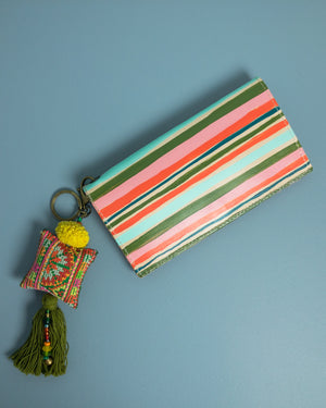 Estella Striped Wallet - Mila Roads