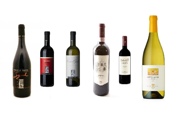 The Curious Case of Tuscan Wines 6 Bottles