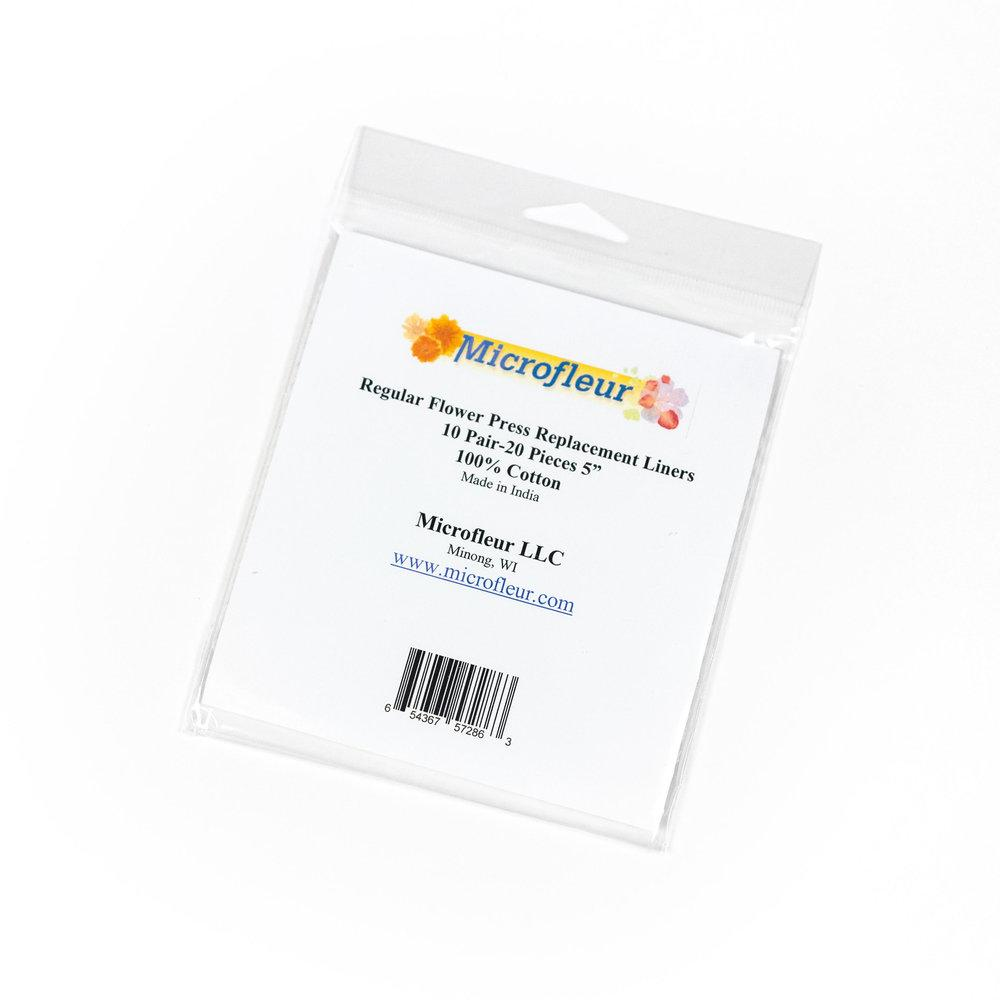 Microfleur Regular Liners 10 Pairs Accessories Microfleur