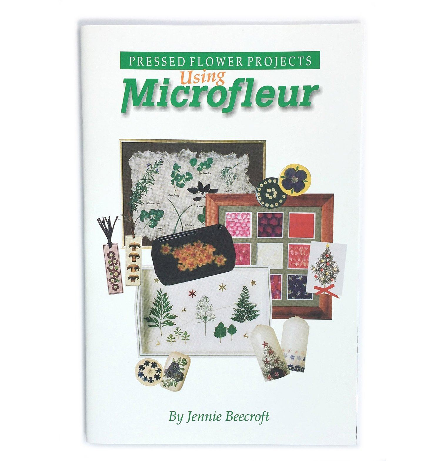 Pressed Flower Projects: Using the Microfleur  Accessories Microfleur
