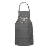 Pressing Time Apron charcoal Adjustable Apron Microfleur