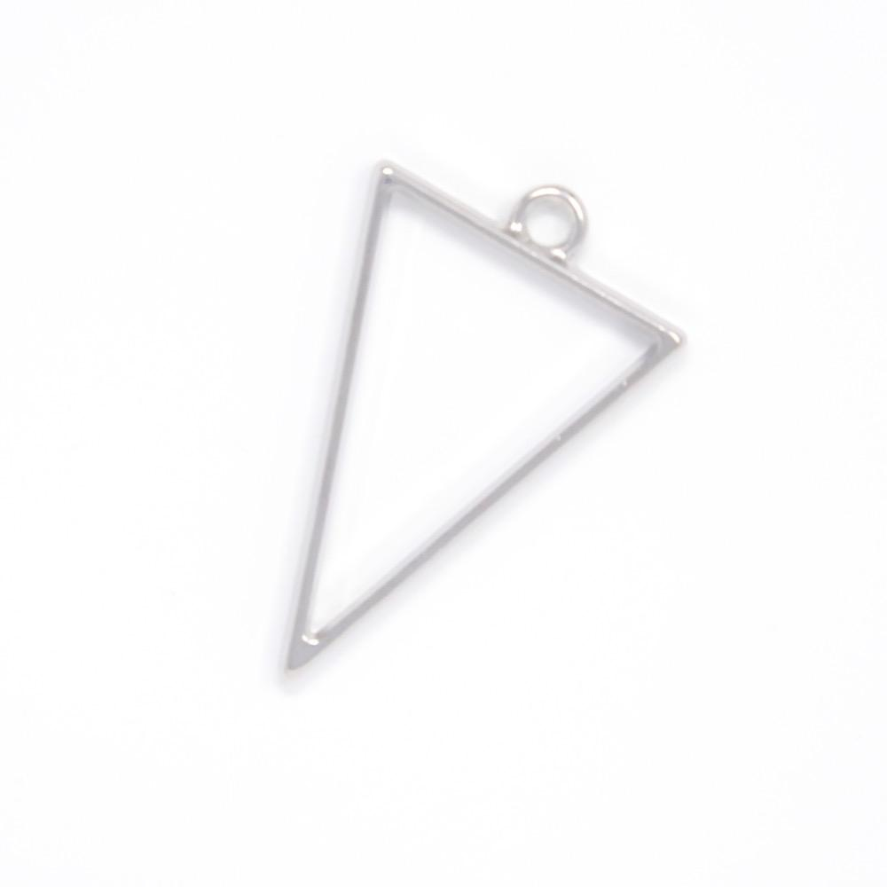 Triangle Open Back Bezel Pendant  Open Back Bezel Microfleur