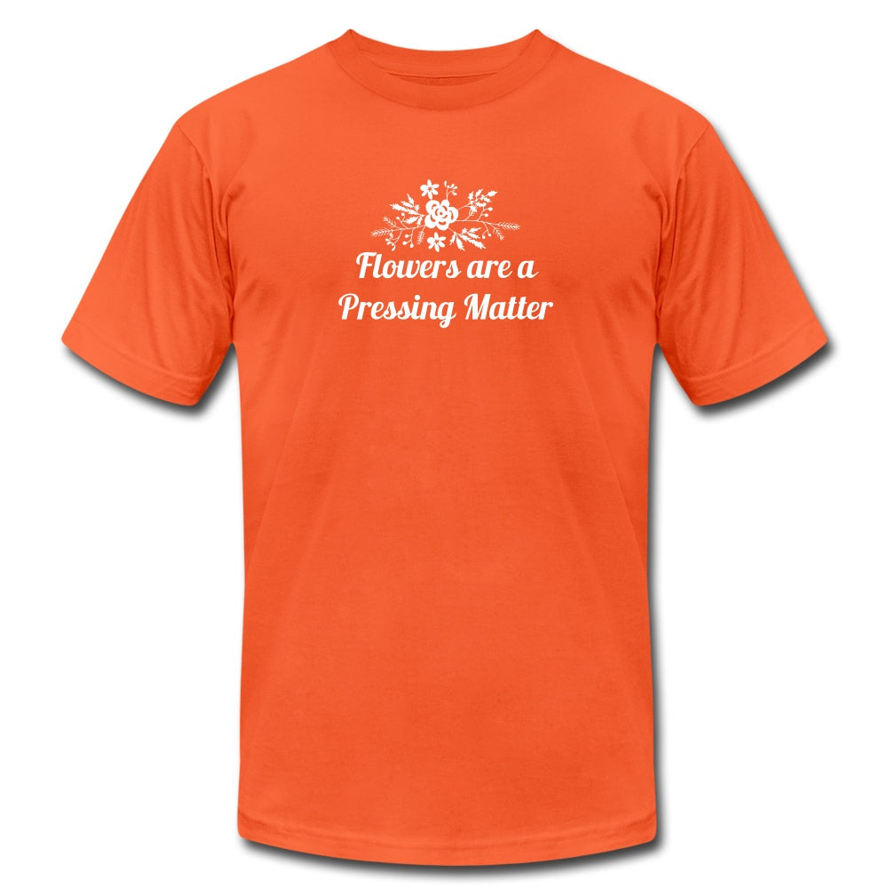 Flowers are a Pressing Matter T-Shirt orange / 3XL Women's T-Shirt Microfleur