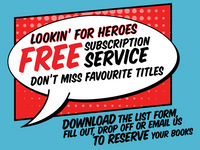 Lookin' For Heroes - Offers A Free Subscription Service