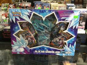 Pokemon Alolan Sandslash GX Box