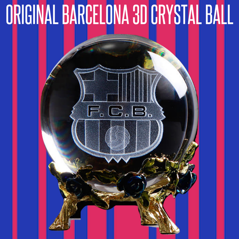 Origina Barcelona FC 3D Crystal Ball - MS Unique