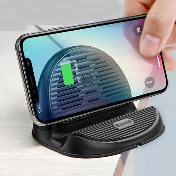 Desktop QI Wireless Charger - MS Unique