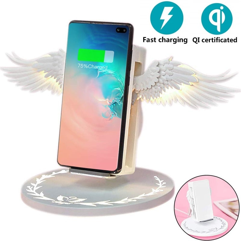 10W Angel Qi Wireless Charger - MS Unique