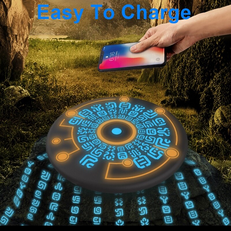 Ancient Temple Magic Wireless Charger - MS Unique