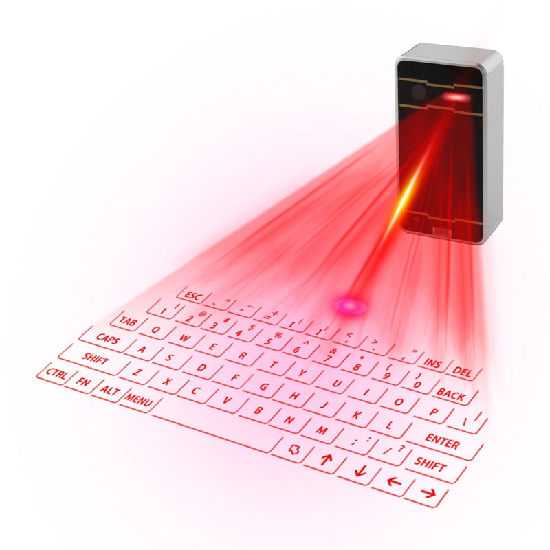 Bluetooth Laser Keyboard Wireless Portable - MS Unique