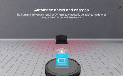 A4s Robot Vacuum Cleaner for Thin Carpet - MS Unique