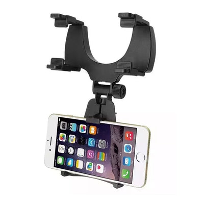 Adjustable Rear-view Mirror Mount Phone Holder - MS Unique