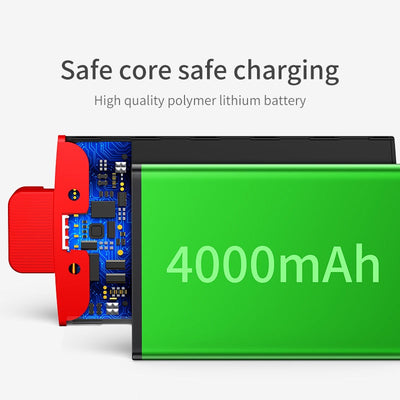 4000mAh Backpack Power bank Case For iPhone - MS Unique