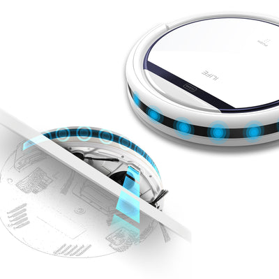 V3s Pro Robot Vacuum Cleaner for Pet hair Self Charging - MS Unique