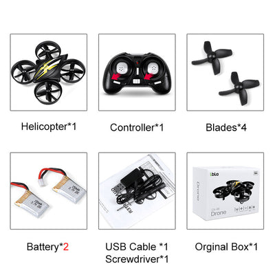 Mini Quadcopters RC Drone Headless Mode - MS Unique