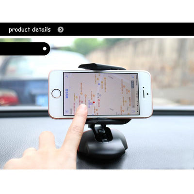 Phone Holder Magnetic Auto Windshield Mouse Stand - MS Unique