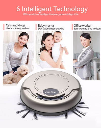 Smart Robot Vacuum Cleaner For Home Appliances - MS Unique