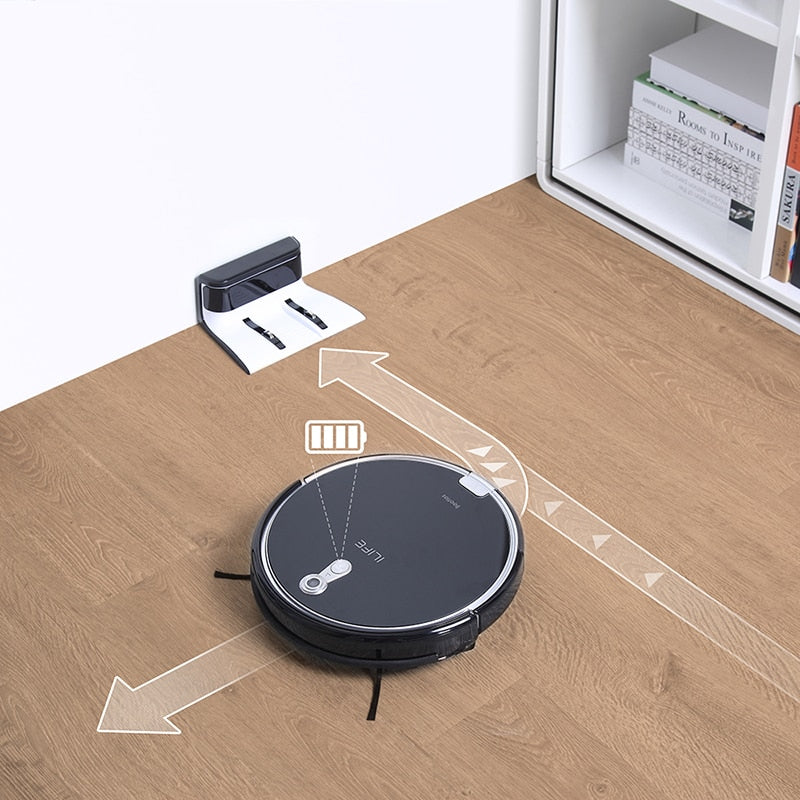 A8 Robotic Vacuum Cleaner with Camera Navigation 2018 - MS Unique