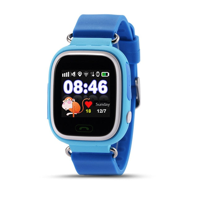 Smart Watch Kids Alarm Clock GPS WIFI Bluetooth Anti-lost - MS Unique