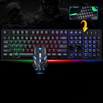 Gaming Mechanical Keyboard + Mouse - MS Unique