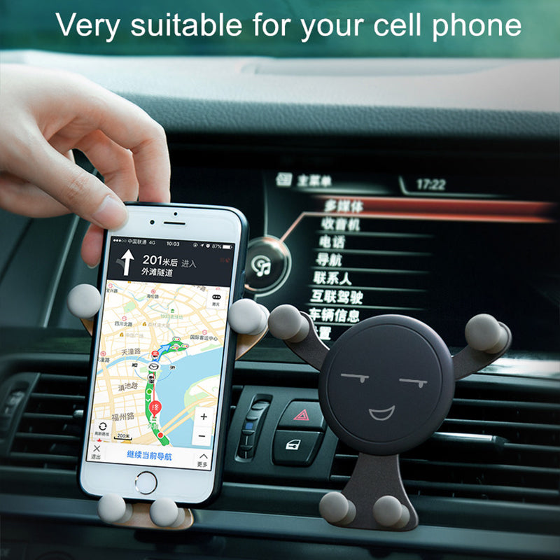 Air Vent Car Phone Holder Mount Holder Stands Support - MS Unique