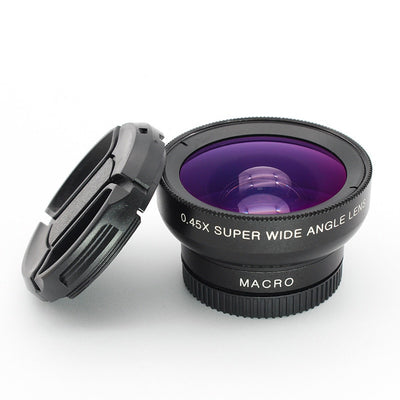 Wide Angle + Macro 2-In-1 Phone Macro Camera Lenses - MS Unique