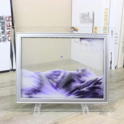 Enchanting Moving Sand Picture Frame - MS Unique