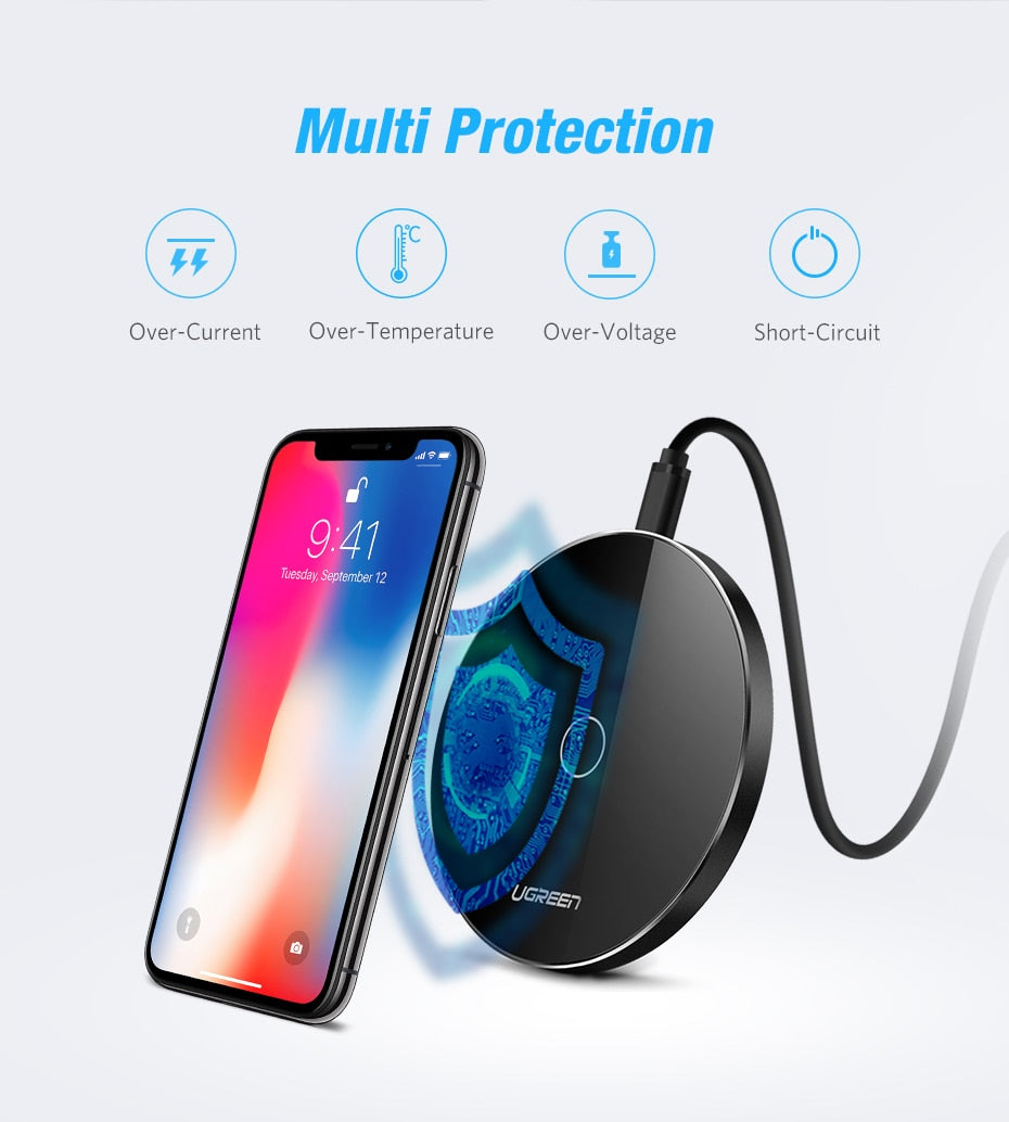 Wireless Charger with 1M charging cable - MS Unique