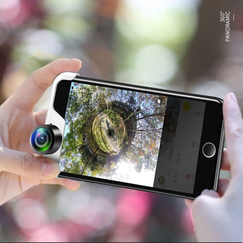 360 Degree Panoramic Camera Lens Full View Shot Dual - MS Unique