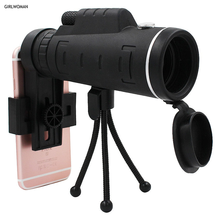 40X Zoom Monocular Mobile Phone Telescope - MS Unique
