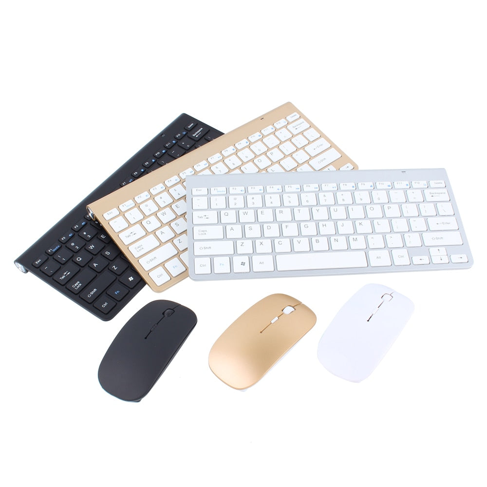 Portable Wireless Mini Keyboard + Mouse - MS Unique