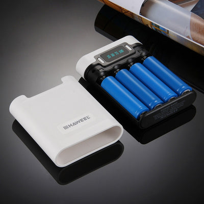 Double USB power bank 4 x 18650 Charger Box Portable - MS Unique
