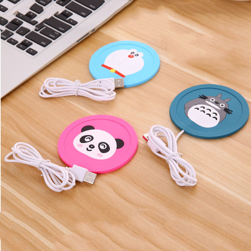 USB Warmer Gadget Cup-Pad USB Heater Tray Mug Pad - MS Unique