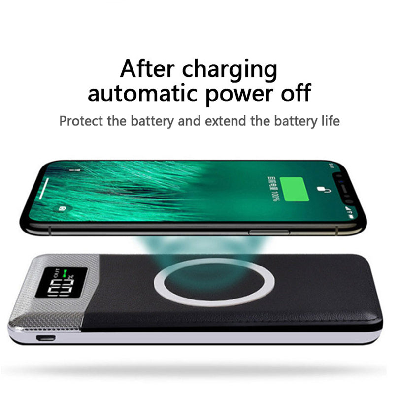 Quick Charge Wireless Power Bank 30000mAh - MS Unique