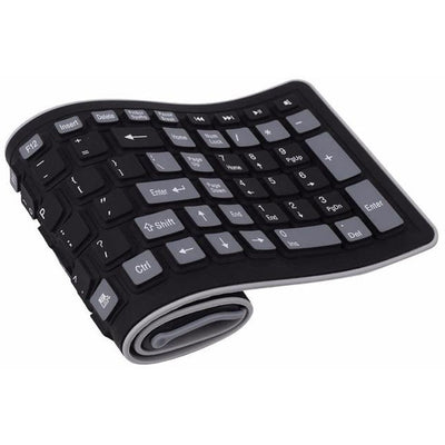 Wireless Keyboard Folding Flexible - MS Unique