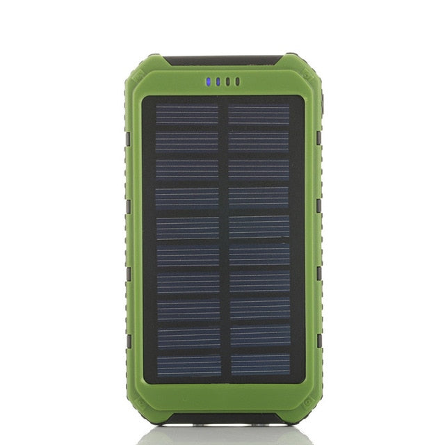 Dual USB Power Bank 20000mAh Solar - MS Unique