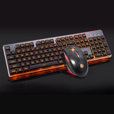 LED Gaming Keyboard + Gaming Mouse - MS Unique