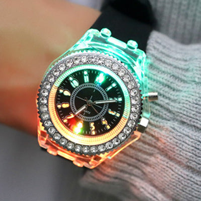 LED Flash Luminous Watch 7 Colour - MS Unique
