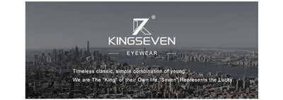 KINGSEVEN Classic Polarized Sunglasses Square Frame - MS Unique