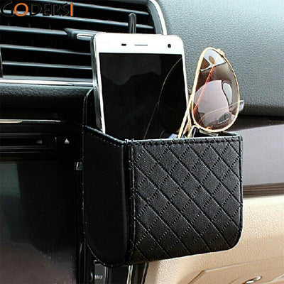 Organiser Box Bag Hanging Leather Phone Holder - MS Unique