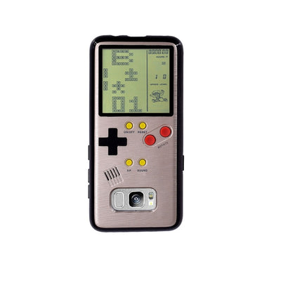 Retro Gameboy Tetris Phone Case For Samsung Galaxy S8 S9 - MS Unique