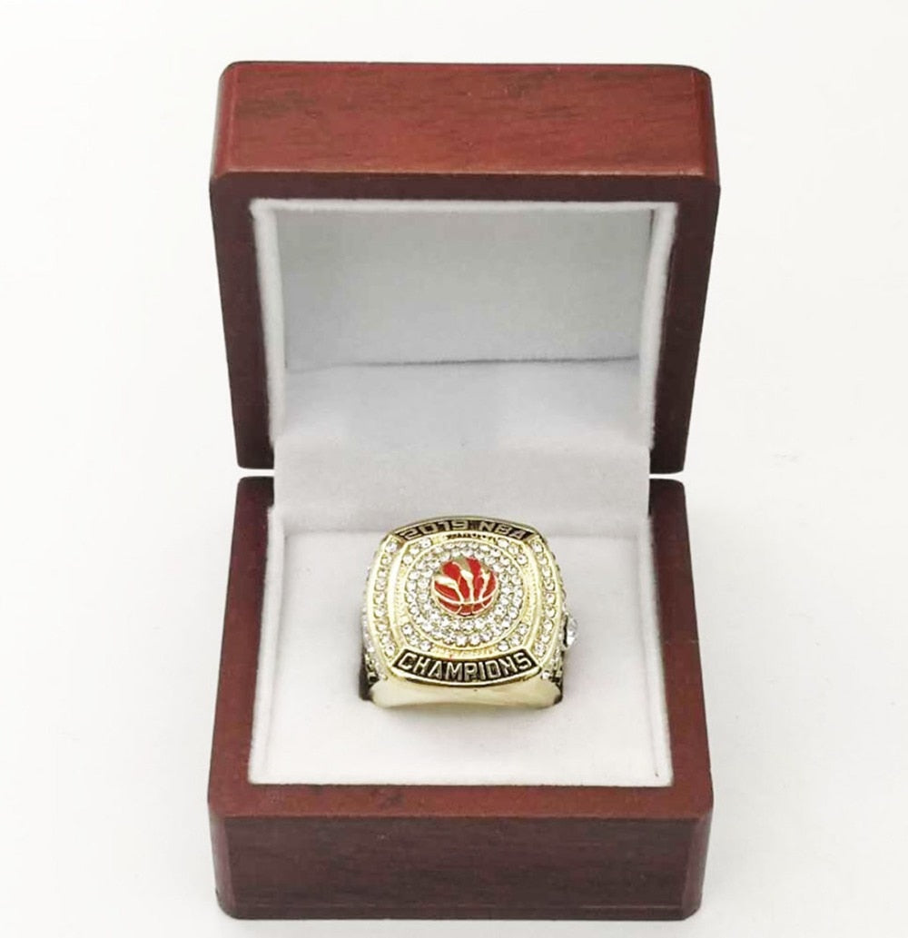 2019 Toronto Raptors Basketball Championship RIng - MS Unique