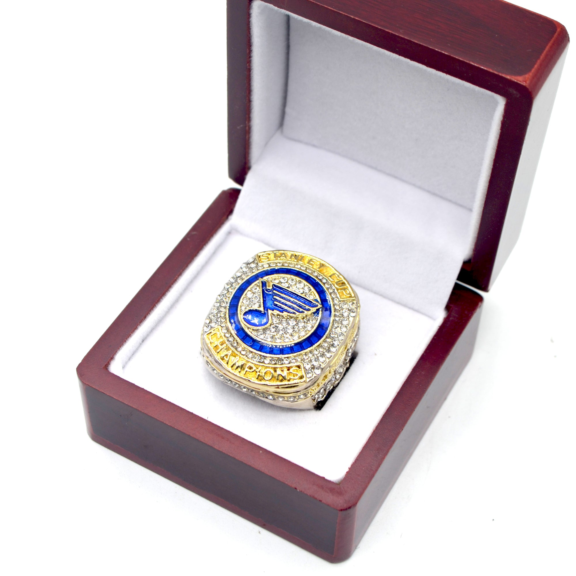 2018 2019 St. Louis Blues Championship Ring Stanley Cup - MS Unique