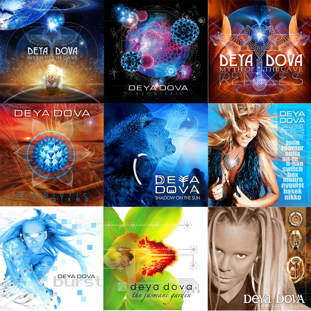 Deya Dova Full Digital Discography - Deya Dova