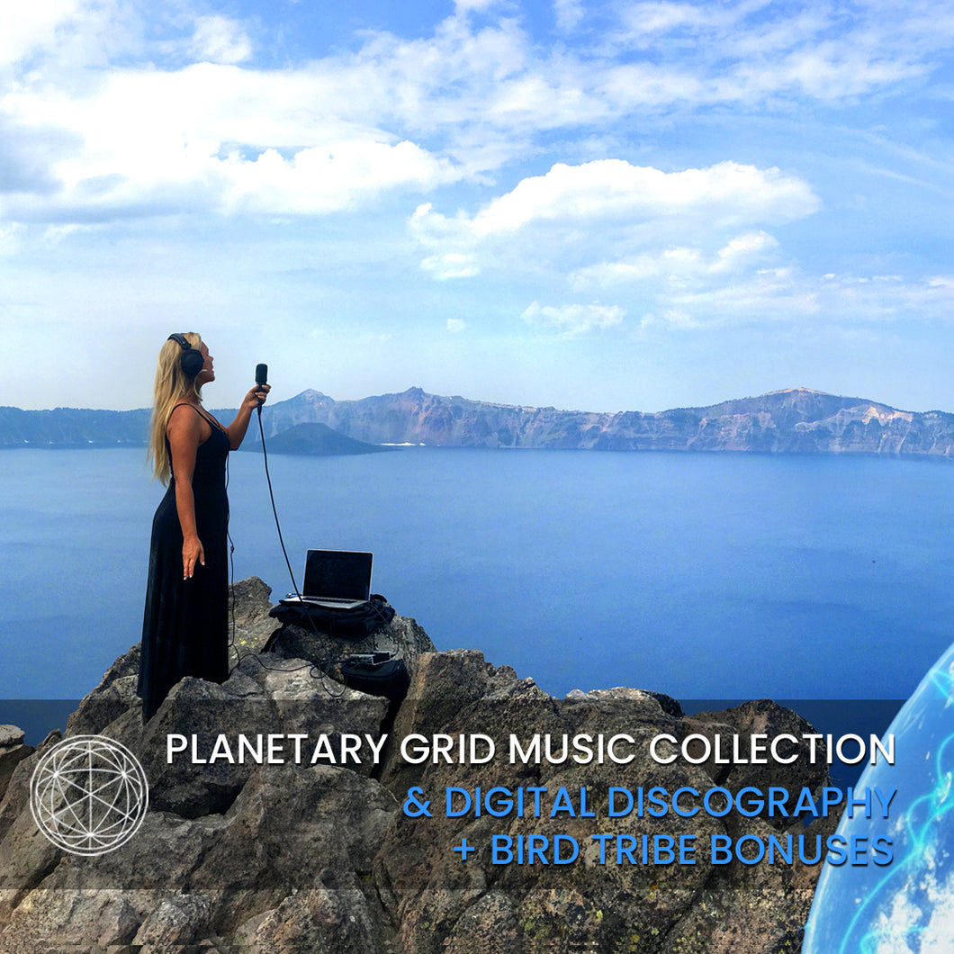 Planetary Grid Music Collection + Digital Discography + Bird Tribe Bonuses