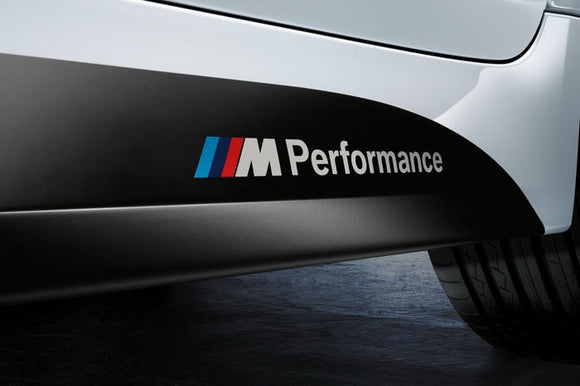 ///M Performance Decals for BMW X1 X3 X5 X6 3series 5 Series 7 Series