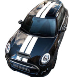 Rally Line Hood Roof Rear Decal for MINI F54 F55 F56 F60 R55 R56 R60 R61 R50 R52 R53