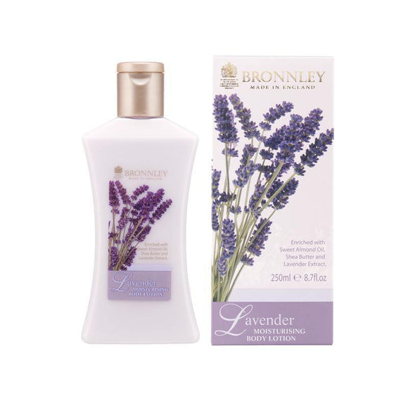 Bronnley Lavender Body Lotion - British Bespoke | Shop Bronnley Online - South Africa