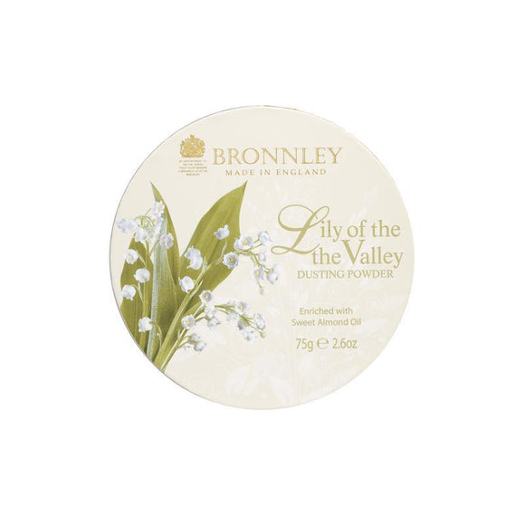 Bronnley Lily Of The Valley Dusting Powder - 75g