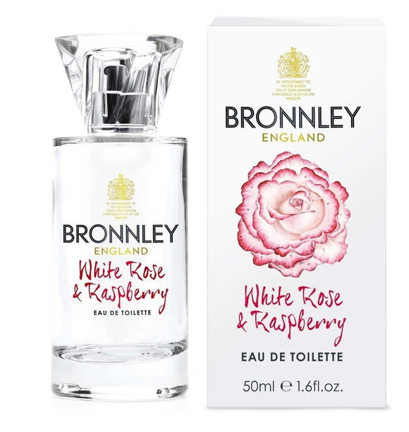 Bronnley White Rose & Raspberry 50ml EDT - British Bespoke | Shop Bronnley Online - South Africa